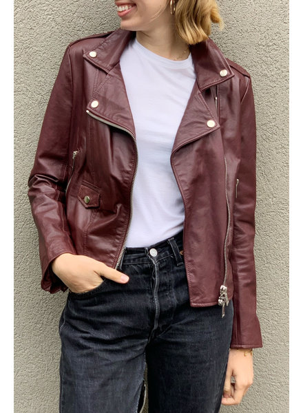 Imperial BURGUNDY LEATHER PERFECTO