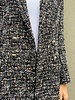 The Kooples OVERSIZED SHINY TWEED JACKET - NEW WITH TAG