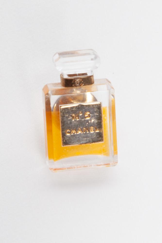 Chanel CHANEL N°5 PERFUME BOTTLE BROOCH