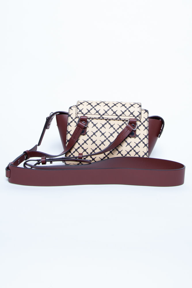 By Malene Birger SMALL HANDBAG WITH YELLOW PRINT AND PATTERNS