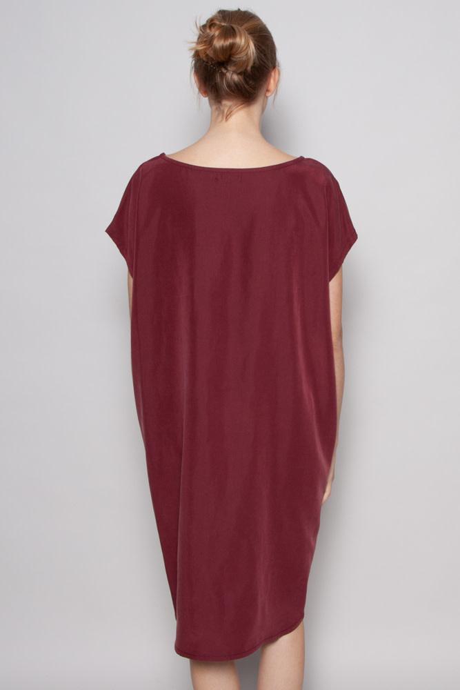 Noemiah ALICE BURGUNDY DRESS - NEW