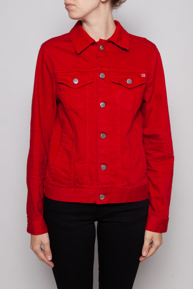 AG Jeans RED JEAN JACKET