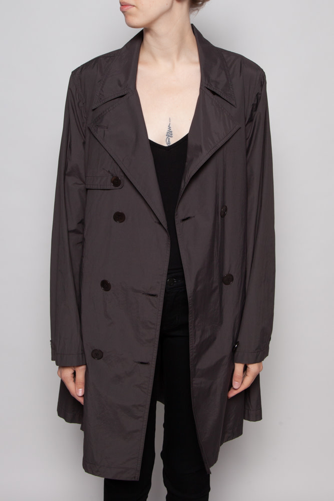 M0851 TAUPE TRENCH COAT