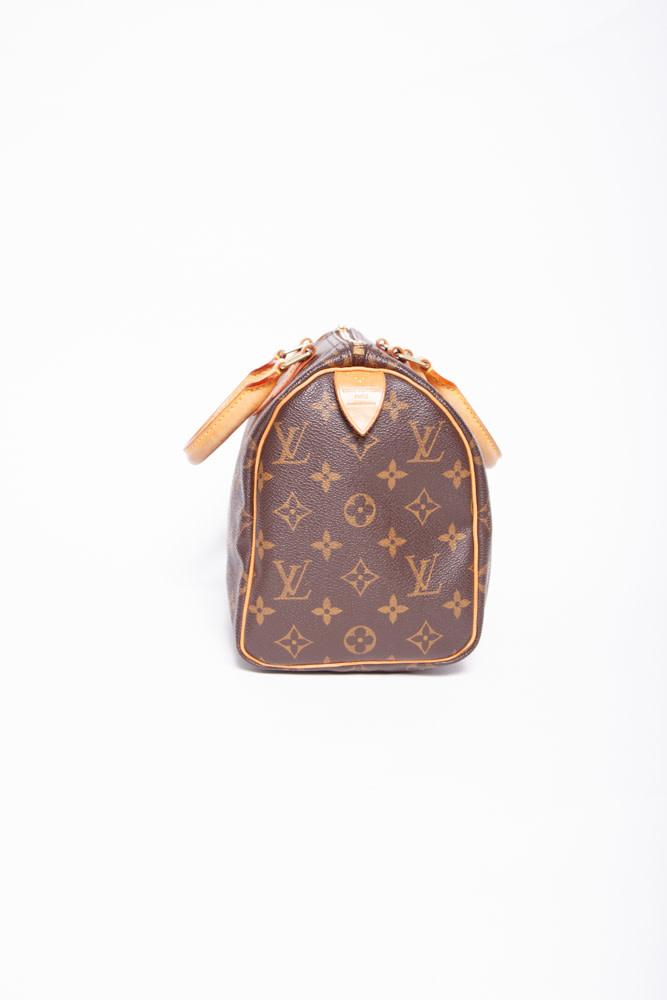 "Louis Vuitton ""SPEEDY 25"" MONOGRAM HANDBAG"