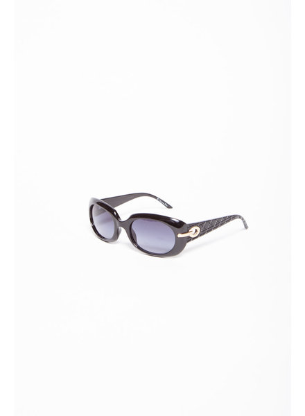 Dior BLACK SUNGLASSES WITH SILVER DETAILS