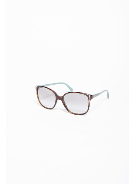 Prada SUNGLASSES WITH TURQUOISE BRANCHES