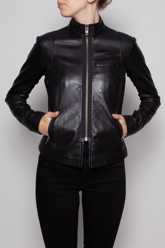 Veda NEW PRICE (WAS $320) - BLACK LEATHER JACKET