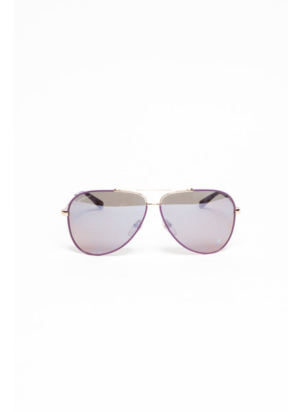 Salvatore Ferragamo PURPLE AVIATEUR STYLE SUNGLASSES