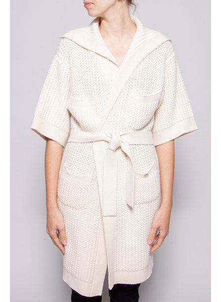 Chanel IVORY KNITTED CARDIGAN