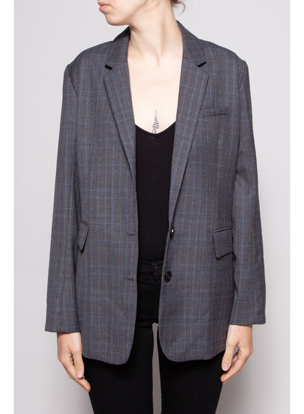 Rails NAVY CHARCOAL CHECK BLAZER - NEW WITH TAG