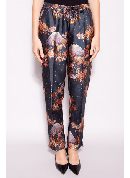 Scotch & Soda MOUNT FUJI PRINTED JOGGER PANTS