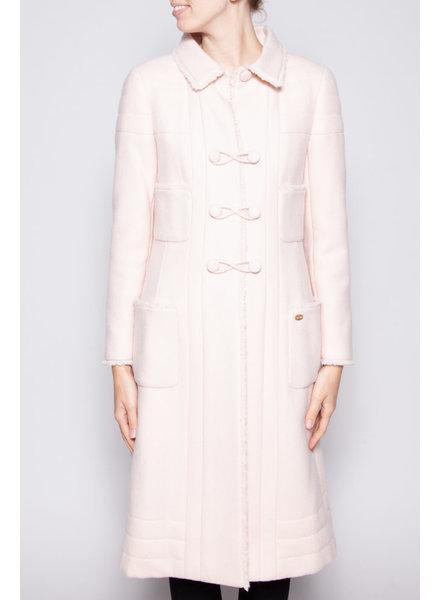 Chanel PINK WOOL COAT