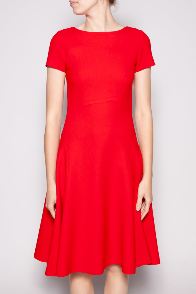 Éditions de Robes RED WOOL DRESS
