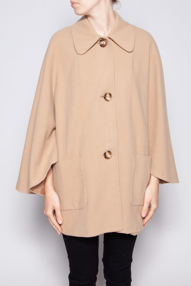 Michael Kors CAMEL WOOL COAT