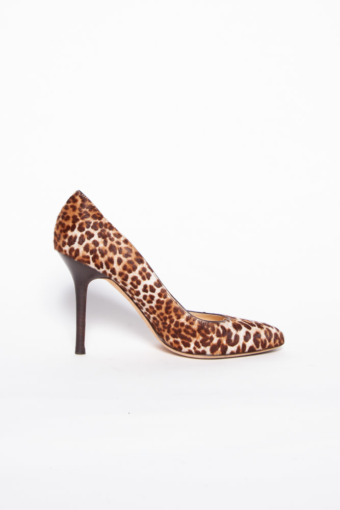 Jimmy Choo NEW PRICE (WAS $220) - LEOPARD CALF HAIR PUMPS