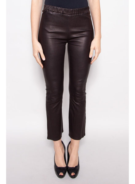 J Brand LAMB LEATHER LEGGING PANTS