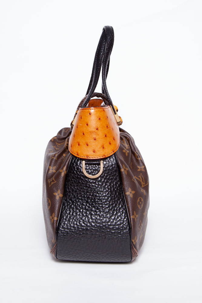 Louis Vuitton OSTRICH, PYTHON & LIZARD LEATHER BAG - OSCAR WALTZ EDITION