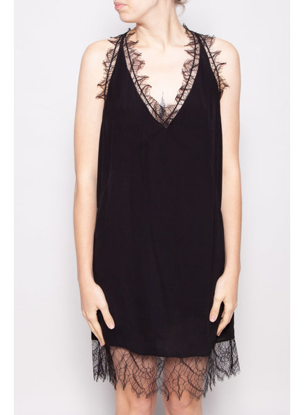 Iro BLACK LACED DRESS