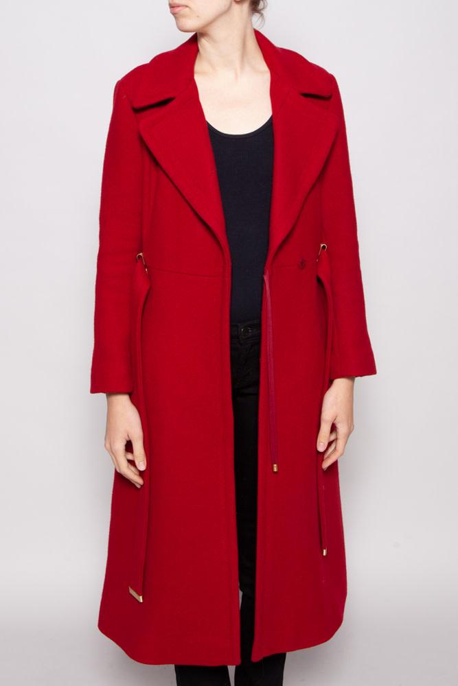Diane von Furstenberg RED COAT MADE OF WOOL