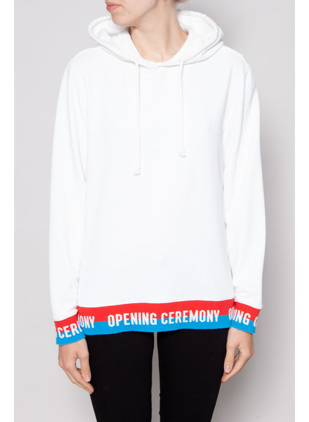 Opening Ceremony ON SALE (WAS $120) - WHITE HOODIE