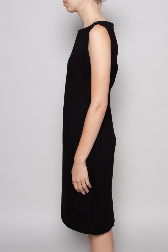 Éditions de Robes BLACK SLEEVELESS DRESS