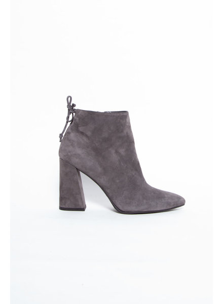 Stuart Weitzman GRAY SUEDE ANKLE BOOTS