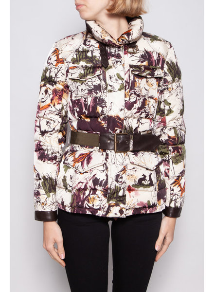 ETRO PUFFER JACKET WITH COLORFUL PRINTS