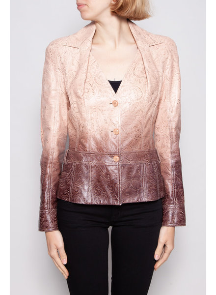 Christian Dior PINK LEATHER JACKET