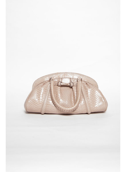 Christian Dior GREY MY DIOR PYTHON BAG