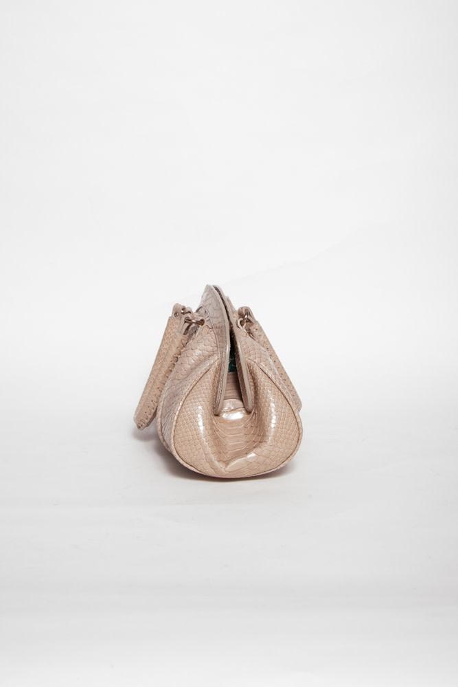 Christian Dior GREY MY DIOR PYTHON BAG