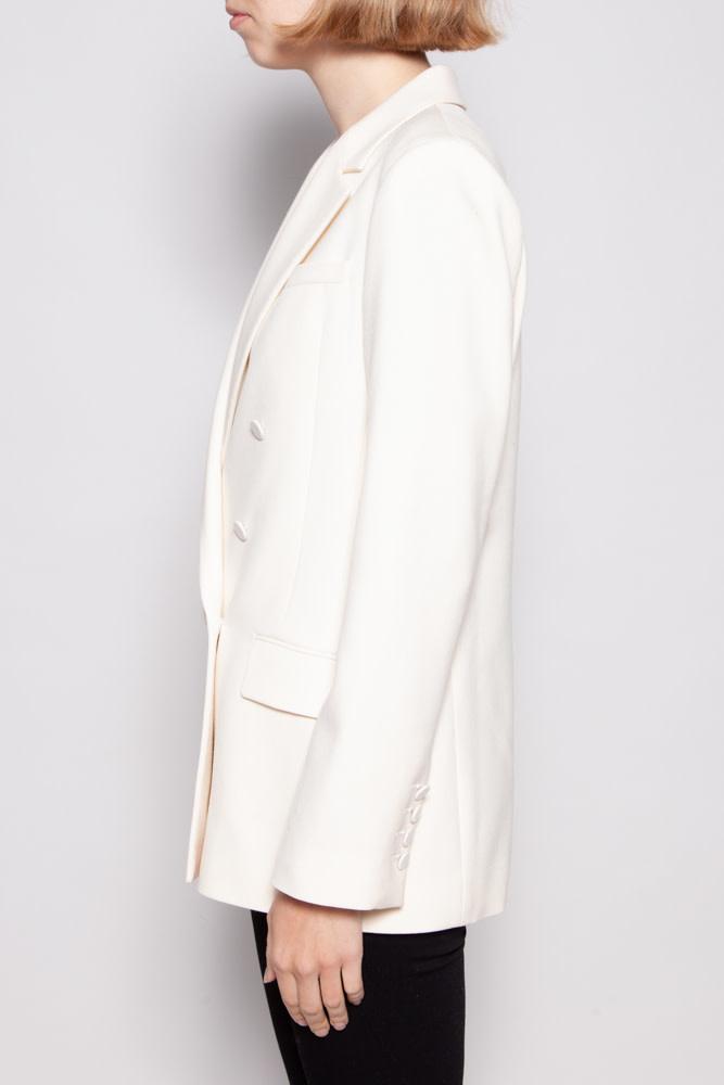 Gucci OFF-WHITE WOOL DOUBLE BREAST BLAZER