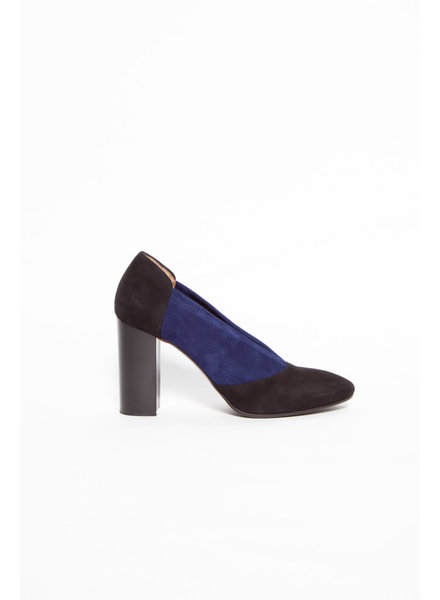 Aquatalia BLACK & BLUE SUEDE SHOES
