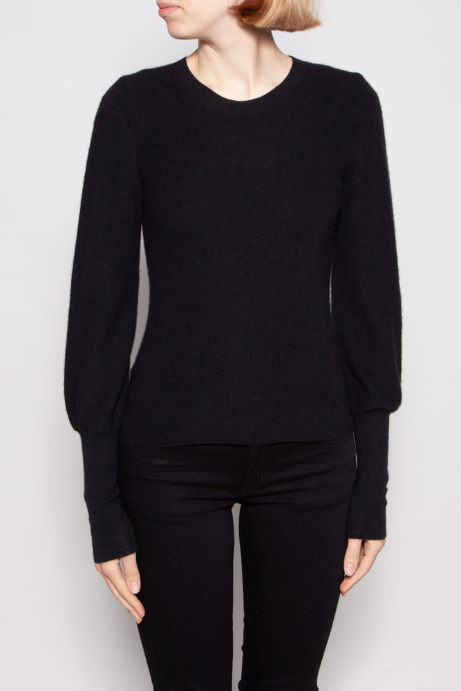Theory BLACK CASHMERE SWEATER