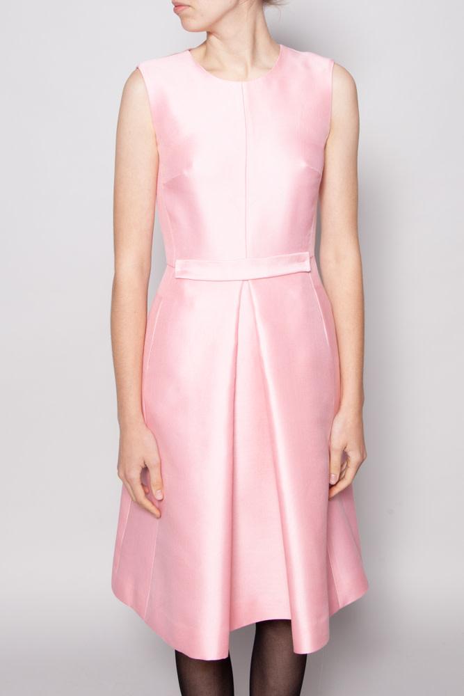 Éditions de Robes PINK WOOL DRESS