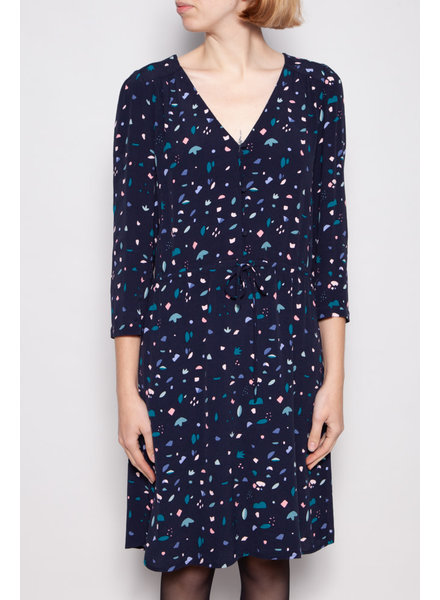 Des petits hauts BLUE PRINTED DRESS
