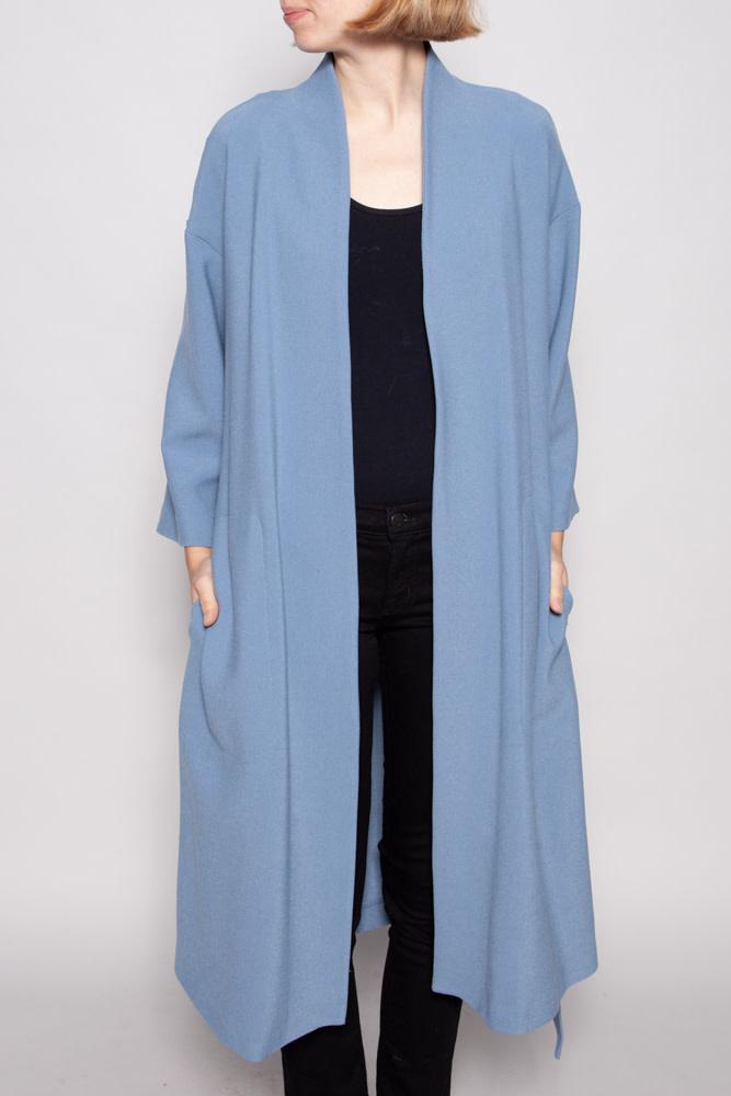 Iris Setlakwe ANTIQUE BLUE DUSTER - NEW WITH TAG (SIZE 10)