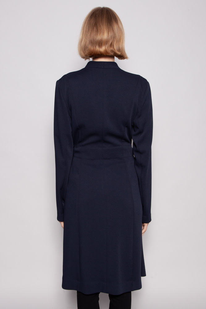 Iris Setlakwe NAVY DUSTER COAT - NEW WITH TAG (SIZE 12)