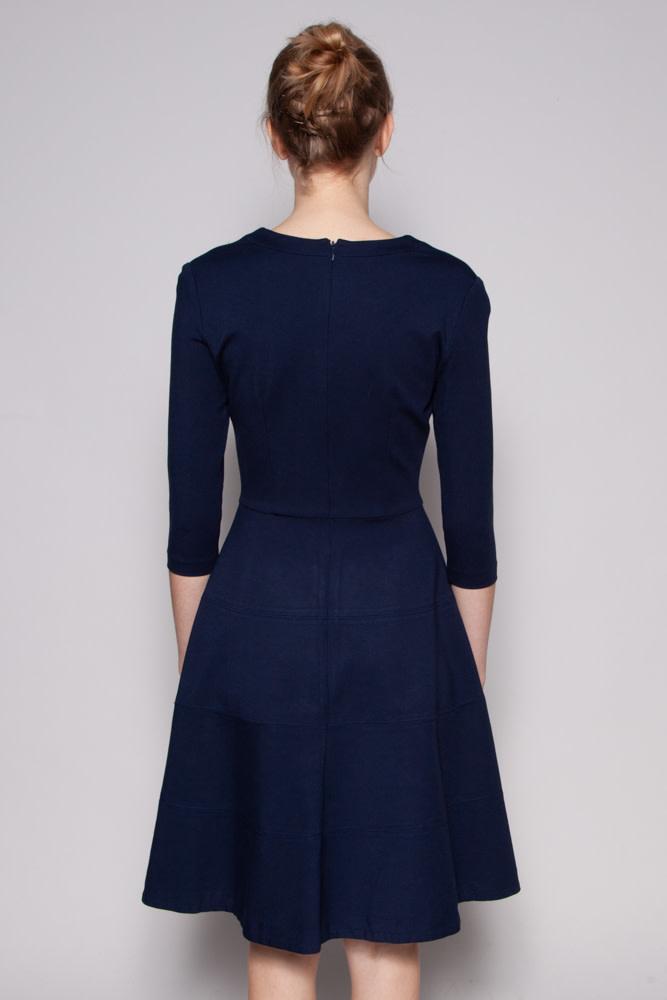 Éditions de Robes NAVY JERSEY DRESS