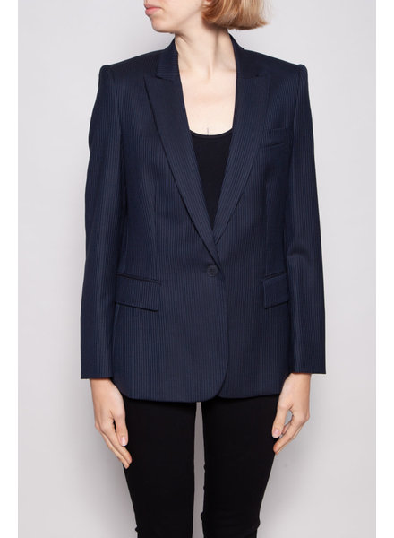 Stella McCartney NAVY BLUE STRIPPED BLAZER