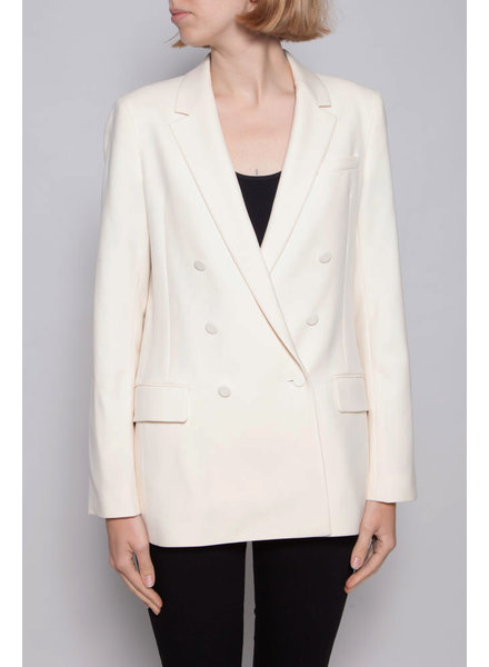 Gucci OFF-WHITE WOOL DOUBLE BREAST BLAZER