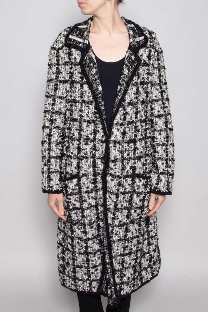 Escada LONG TWEED JACKET