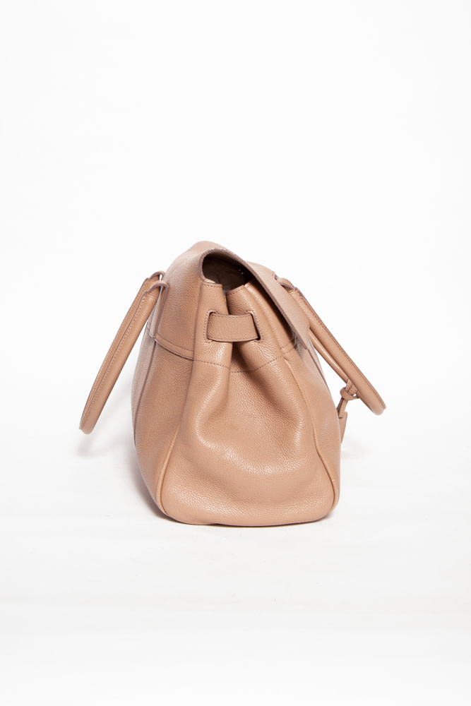 Mulberry BAYSWATER BEIGE LEATHER BAG