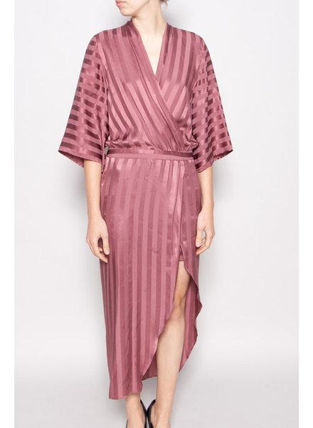 Michelle Mason PINK SILK DRESS