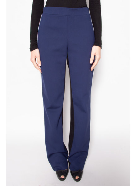 Marie Saint Pierre BLUE, BLACK & GREY PANTS