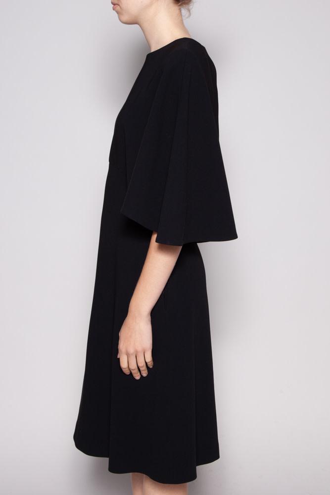 Éditions de Robes BLACK CAPE DRESS