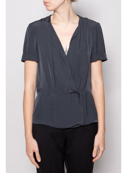 Isabel Marant Étoile GREY WRAP TOP