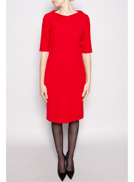 Marella NEW PRICE (WAS $140) - RED 3/4 SLEEVES DRESS