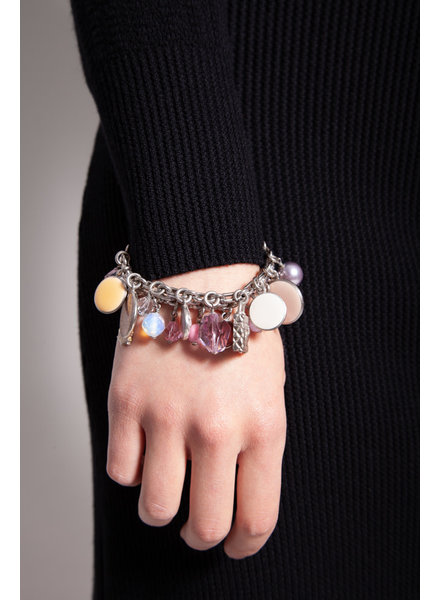 Chanel MULTICOLORED CHARM BRACELET