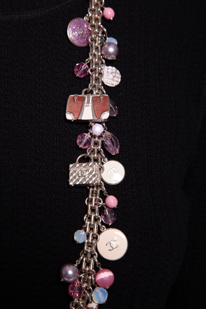 Chanel MULTICOLORED CHARM NECKLACE