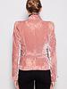 Christian Dior PINK VELVET AND TULLE BLAZER